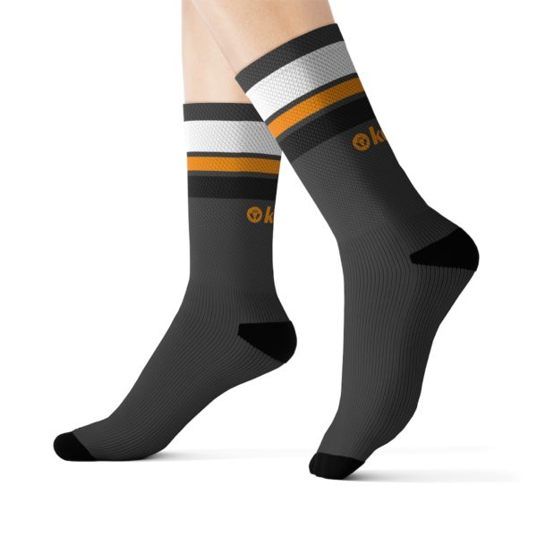 Kokee Sport Retro Socks (Gray)